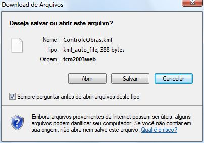 Tela de Download